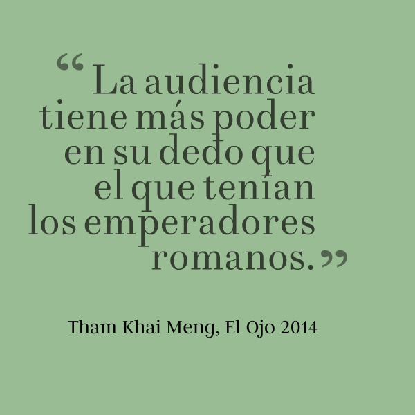 Thai Khai Meng - El  Ojo 2014