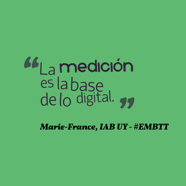Marie-France de IAB - EMB Training Time