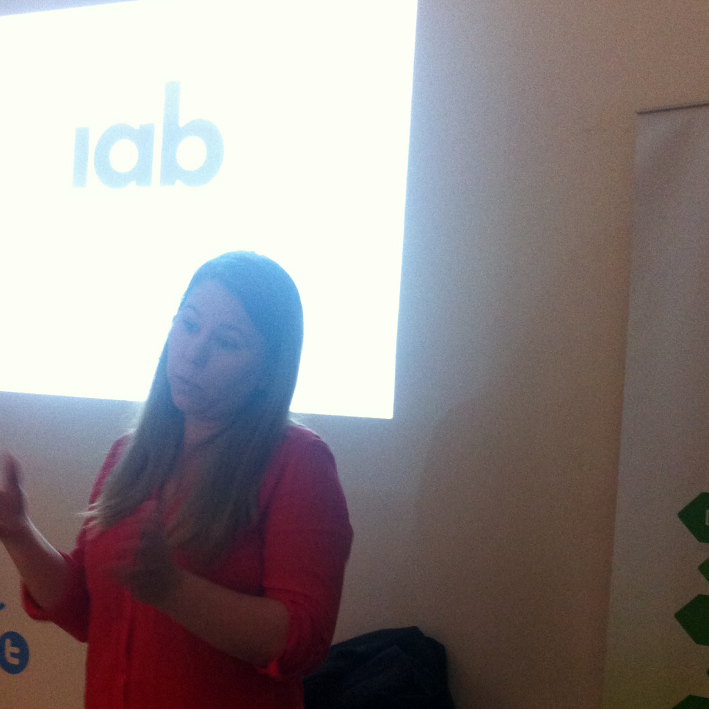 Marie-France de IAB en EMB Training Time