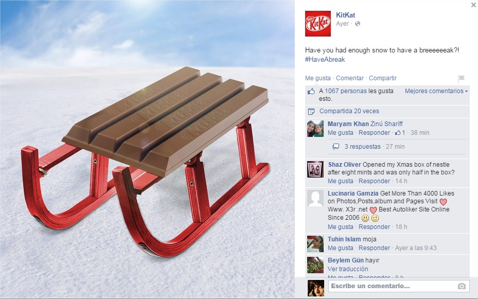(1) KitKat - Redes Sociales