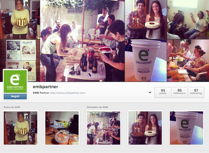 EMB Partner Instagram