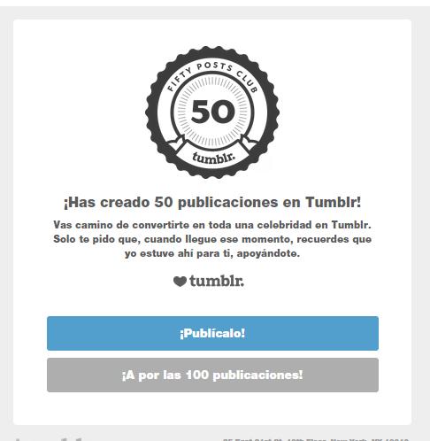Mails de Tumblr