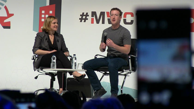 Mark Zuckerberg en el MWC2015 - EMB Partner