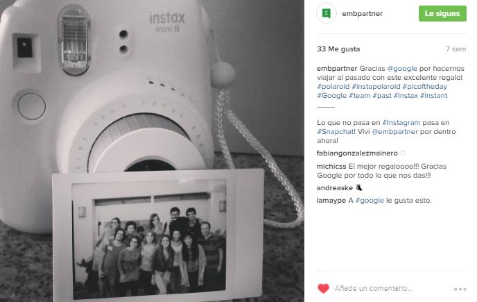 EMB Instagram - Hashtags