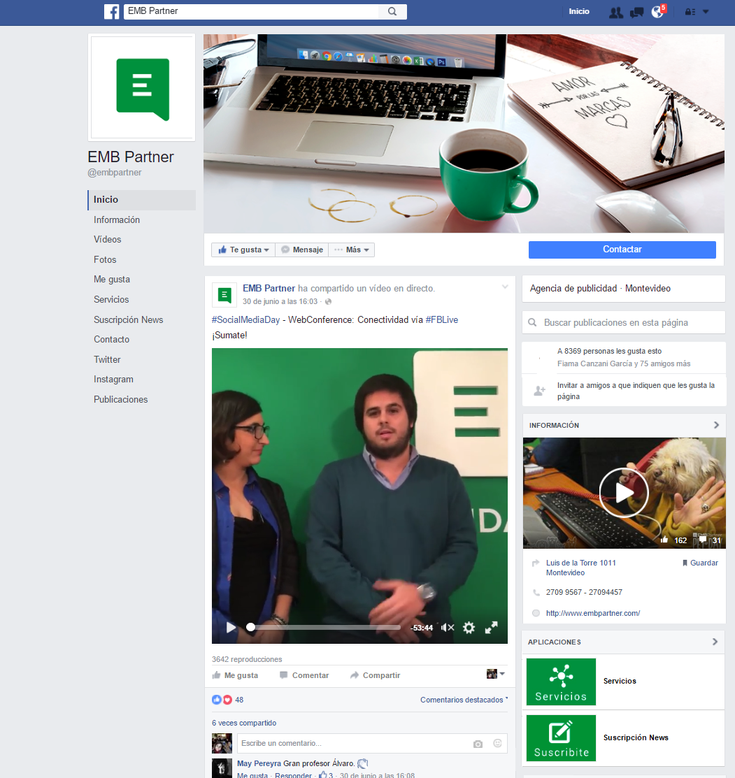 New look de Facebook
